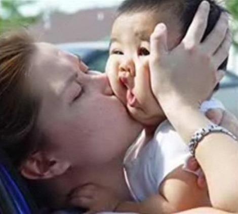 赤ちゃんの面白画像
