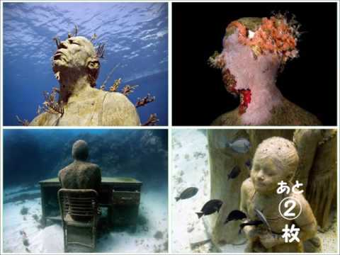 動画で面白画像![面白画像] 04  海の美術館の面白画像