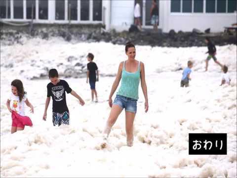 動画で面白画像![面白画像] 07 海の泡華 正直なところつまらん写真だの面白画像