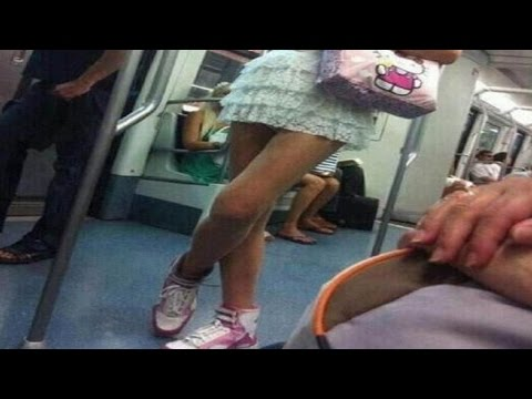 動画で面白画像!【おもしろ画像】電車で見かけたおもしろ光景【傑作選】国内、海外、中国編など 見ると忘れられない、思わず二度見する嘘じゃなくて本当の決定的瞬間。の面白画像